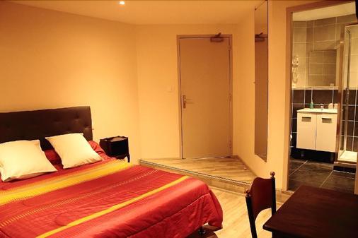 Hotel Pourcheresse - Dole - Schlafzimmer