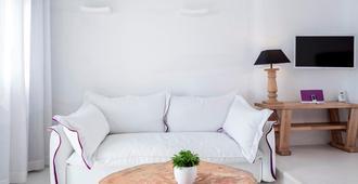 Charisma Suites - Oia - Living room