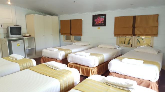 Prachuab Garden View Resort - Prachuap Khiri Khan - Bedroom