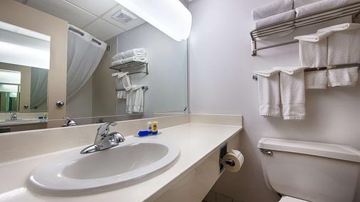 SureStay Plus Hotel by Best Western Albany Airport - Albany - Baño