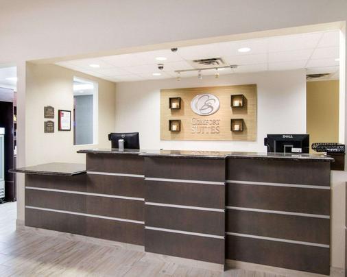 Comfort Suites San Angelo - San Angelo - Front desk