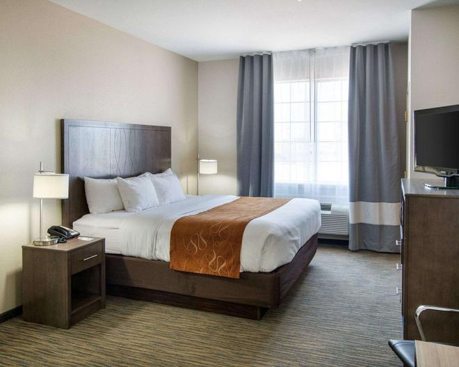 Comfort Suites San Angelo - San Angelo - Phòng ngủ