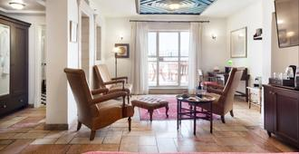 The American Colony Hotel - Small Luxury Hotels of the World - Jerusalem - Living room