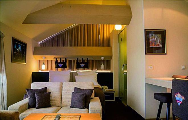 Alpen Club - Sheregesh - Sala de estar