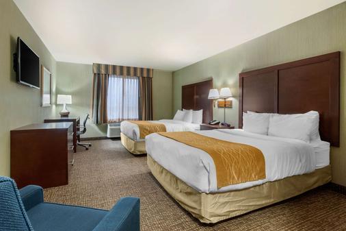 Comfort Inn & Suites - Mitchell - Makuuhuone