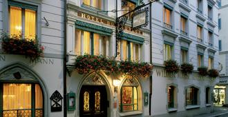 Romantik Hotel Wilden Mann - Luzerna - Edifício