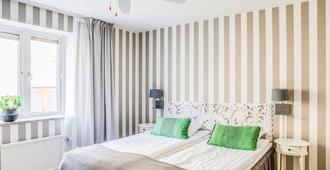 هوتل جوته - فيسبي - غرفة نوم