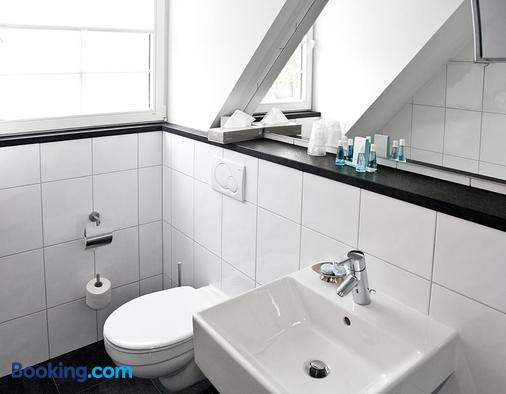 施恩蘭伯格酒店 - 杜塞爾多夫 - 杜塞道夫 - 浴室