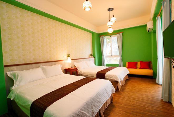 Soft Travel Hostel - Taitung - Schlafzimmer