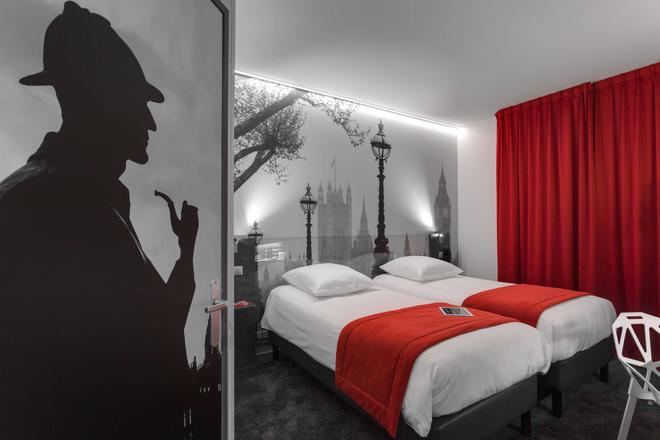 Kyriad Rennes Centre - Rennes - Bedroom