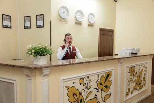 Matreshka Hotel - Moscow - Front desk