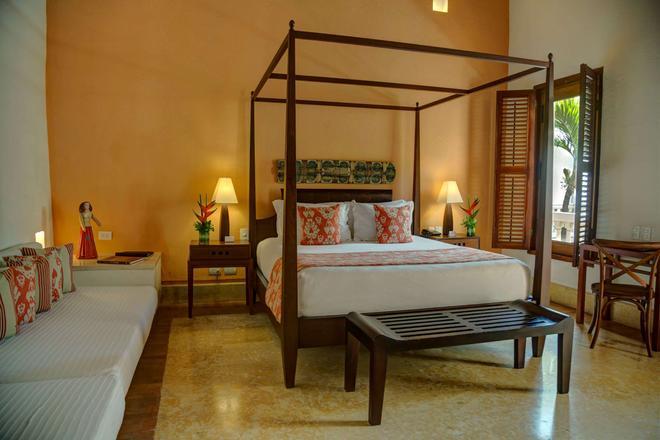 Hotel Quadrifolio - Cartagena - Makuuhuone