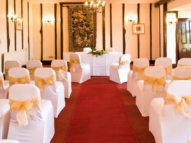 Mercure Stratford Upon Avon Shakespeare Hotel - Stratford-upon-Avon - Banquet hall