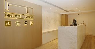 Inn Hotel Macau - Macao - Recepción