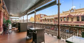 Quality Inn The George Hotel Ballarat - Ballarat - Balkong