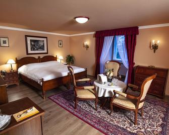 Hotel Chateau Stirin - Kamenice - Slaapkamer