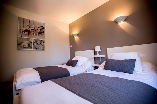Auberge de l'Espinouse - La Salvetat-sur-Agout - Bedroom