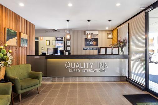 Quality Inn Dubbo International - Dubbo - Front desk