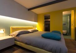 拉夸特洛丹姆奢華套房旅館 - 羅馬 - 臥室
