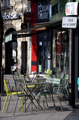 Citotel de l'Univers - Angers - Patio
