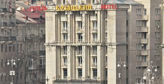 Отель Козацкий - Киев - Вид снаружи