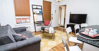 格拉梅西高級公寓 - 紐約 - 客廳