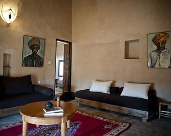 Kasbah Ait Ben Moro - Skoura - Wohnzimmer