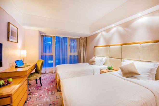 香港粵海酒店 - 香港 - 臥室