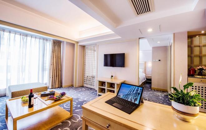 香港粵海酒店 - 香港 - 客廳