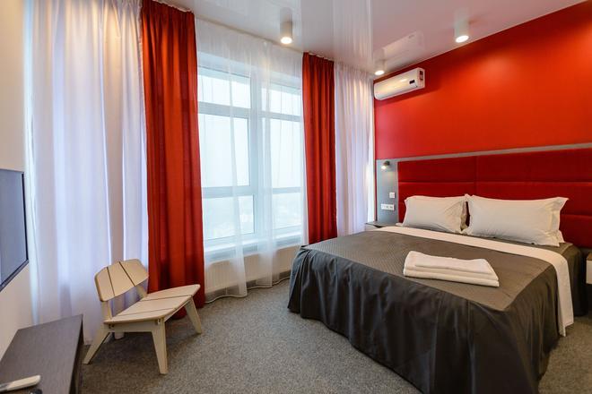Partner Guest House Klovskyi - Kyiv - Bedroom