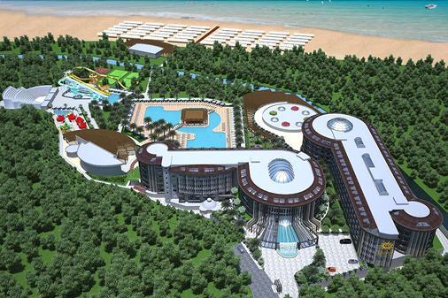 桑美莉雅海灘渡假村及水療中心 - 式 - 賽德 - 馬納夫加特 - 建築