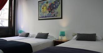 Hostal Lk Barcelona - ברצלונה - חדר שינה