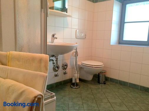 Apartment Sonnenhof Bad Elster - Bad Elster - Bathroom