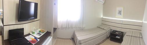 Barigui Park Hotel - Curitiba - Phòng ngủ