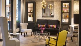Hôtel Gustave - París - Sala de estar