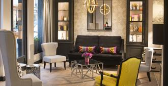 古斯塔夫酒店 - 巴黎 - 巴黎 - 客廳