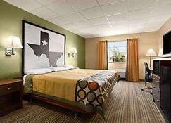 德克薩斯州基因斯維爾速 8 酒店 - 蓋斯維爾 - 蓋恩斯維爾(德克薩斯州) - 臥室