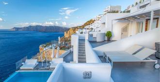 Santorini Secret Suites & Spa - Fira - Balcón