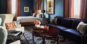 Kimpton Hotel Monaco Salt Lake City - סולט לייק סיטי - חדר שינה