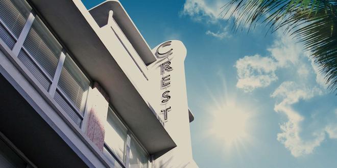 Crest Hotel Suites - Bãi biển Miami - Toà nhà