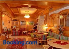 Residence Taufer - San Martino di Castrozza - Nhà hàng