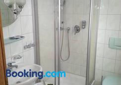 Hotel Waldesruh - Lengefeld - Bathroom