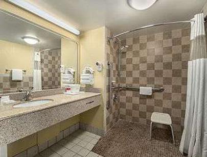 Ramada by Wyndham Temple Terrace/Tampa North - Tampa - Bathroom