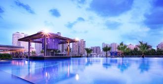 Sentosa Hotel Apartment Taoyuan Branch - שנג'ן - בריכה