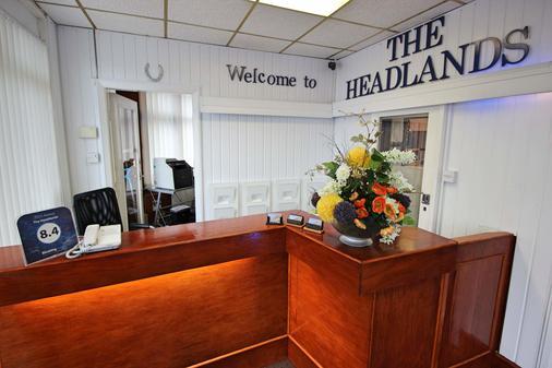 Headlands Hotel - Blackpool - Front desk