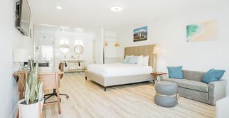 The Belmont Shore Inn - לונג ביץ' - חדר שינה