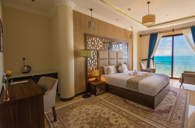 尚西巴渡假村金色鬱金香酒店 - 桑吉巴城 - 桑給巴爾 - 臥室