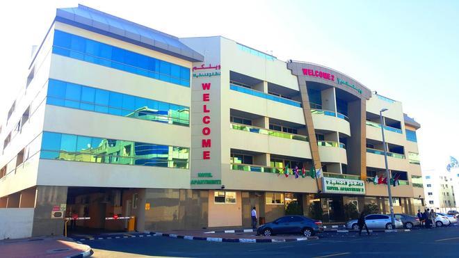 Welcome Hotel Apartment -2 - Dubai - Building