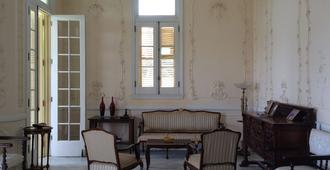 A Comfortable Stay In A Beautiful Colonial House - Mexiko-Stadt - Wohnzimmer