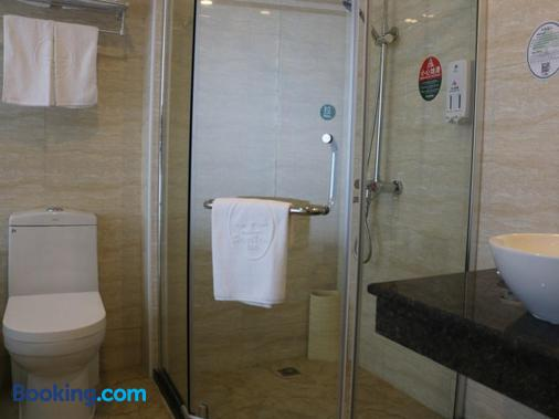 Greentree Inn Taizhou Taixin Wenchang Road Business Hotel - Taixing - Bathroom